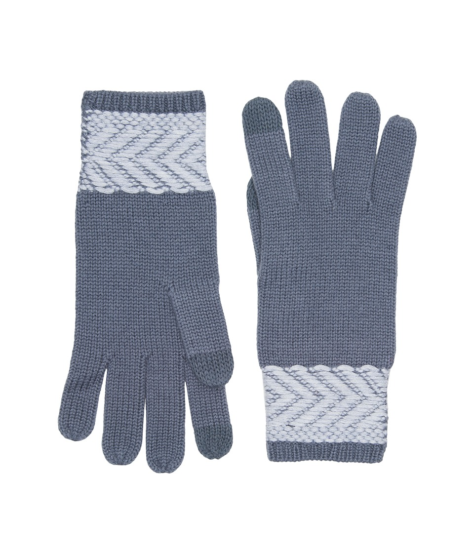 UGG Chevron Smart Gloves (Nocturn Multi) Extreme Cold Weather Gloves