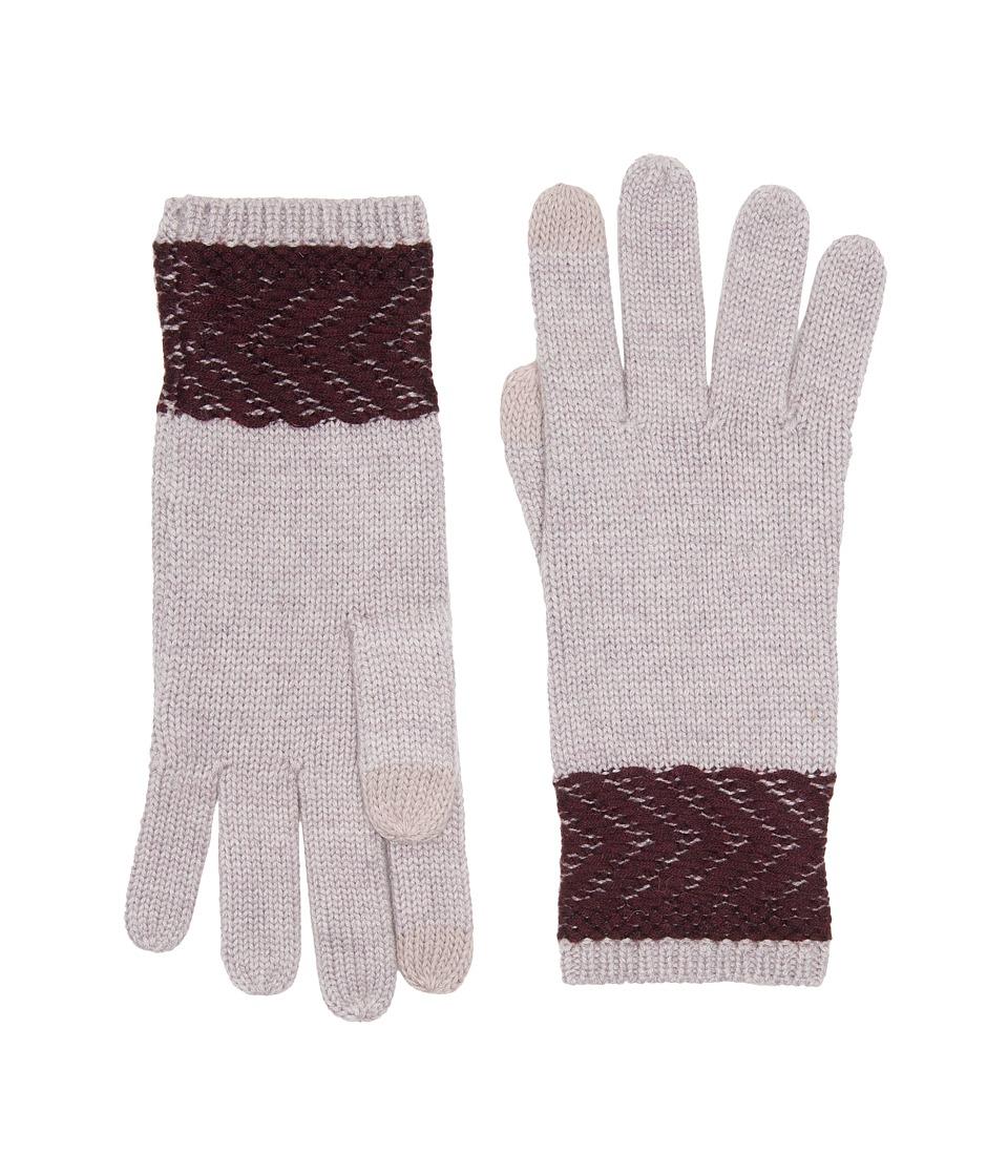 UGG Chevron Smart Gloves (Starlight Heather Multi) Extreme Cold Weather Gloves