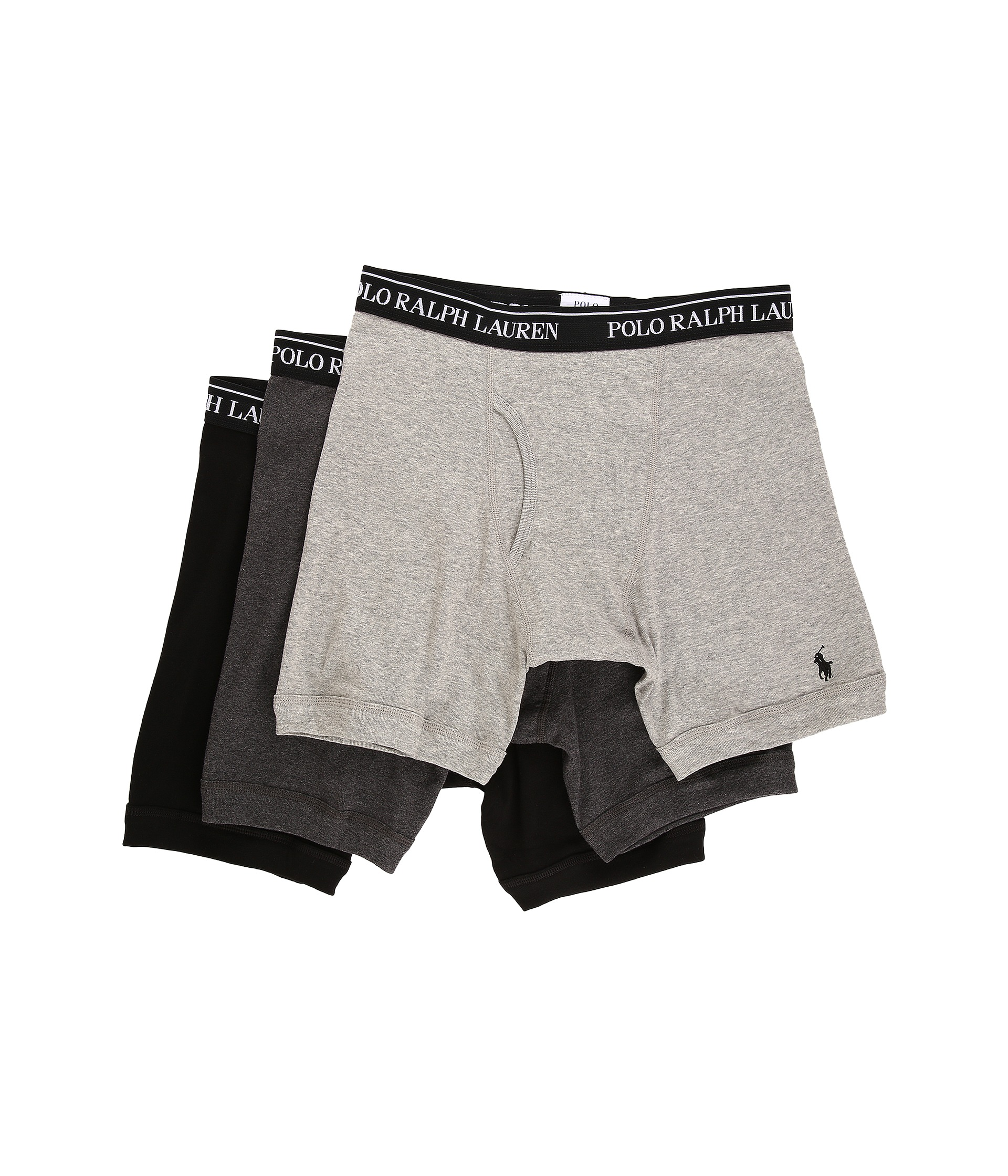 polo ralph lauren 3 pack long leg boxer brief at. Black Bedroom Furniture Sets. Home Design Ideas