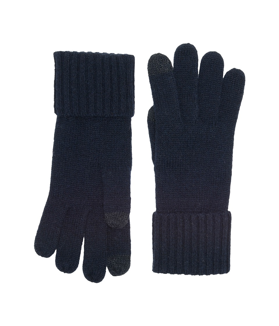 UGG Knit Smart Gloves (Navy) Extreme Cold Weather Gloves