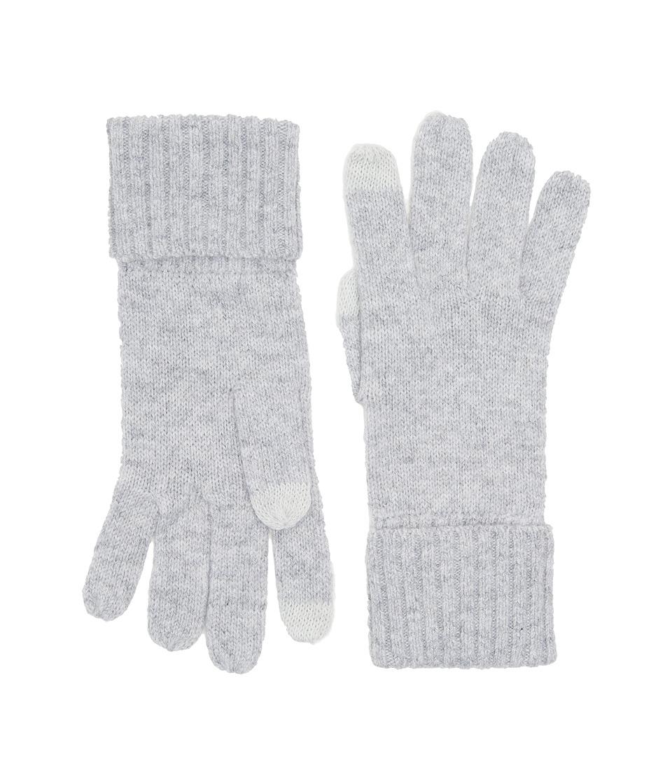 UGG Knit Smart Gloves (Sterling Heather) Extreme Cold Weather Gloves