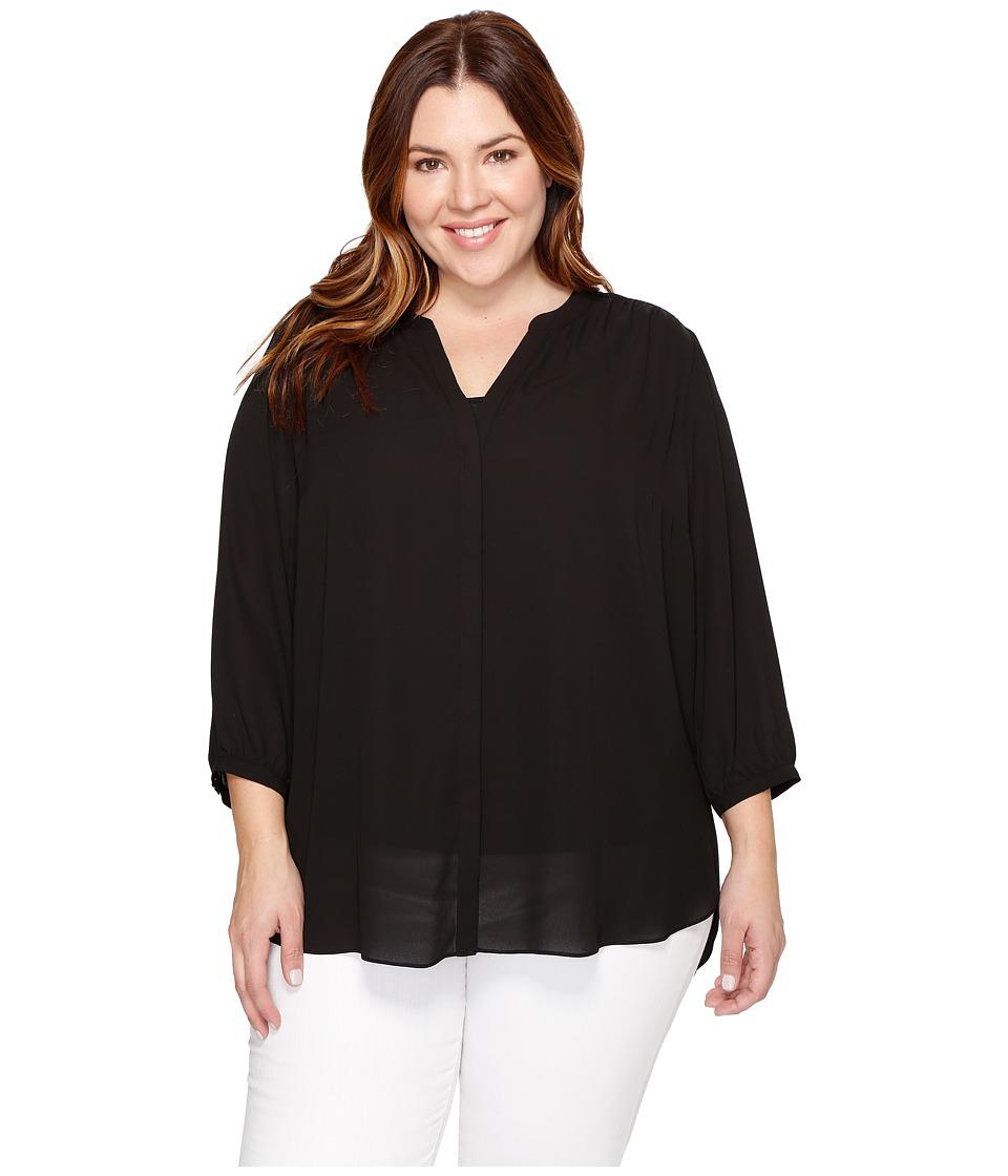 NYDJ Plus Size - Plus Size Pintuck Blouse