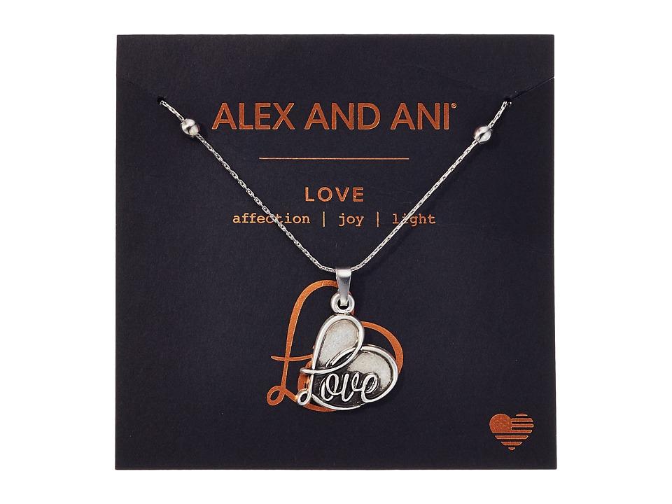 Alex and Ani - Path of Symbols - Love IV Swarovski