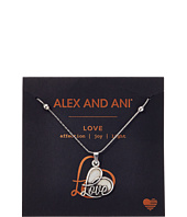 Alex and Ani - Path of Symbols - Love IV Swarovski® Expandable Necklace w/ Swarovski® Crystals