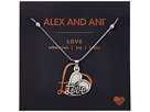 Alex and Ani - Path of Symbols - Love IV Swarovski® Expandable Necklace w/ Swarovski® Crystals