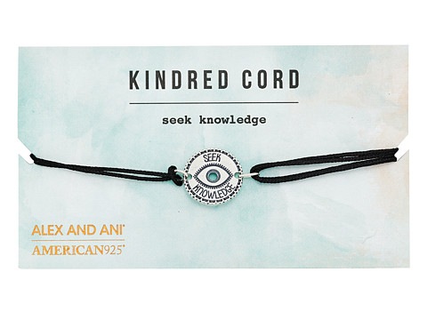 Alex and Ani Kindred Cord Link Bracelet - Seek Knowledge