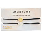 Alex and Ani Sun and Moon Kindred Cord Charm Bracelet