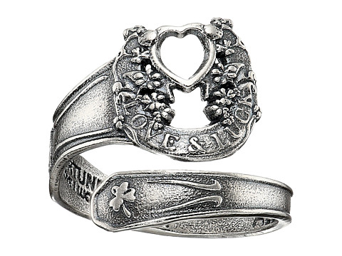 Alex and Ani Fortune s Favor Spoon Ring - Precious Metal - Sterling Silver