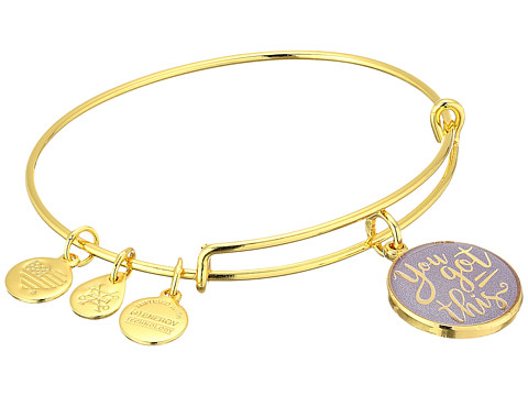Alex and Ani Words are Powerful - You Got This Bangle - Shiny Gold