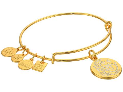 Alex and Ani Charity By Design Live a Happy Life Bangle - Joe Andruzzi Foundation - Shiny Gold