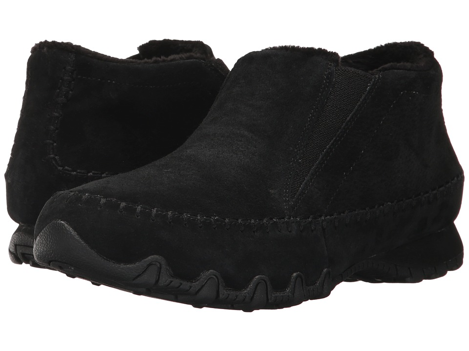 SKECHERS Bikers Navajo (Black) Women