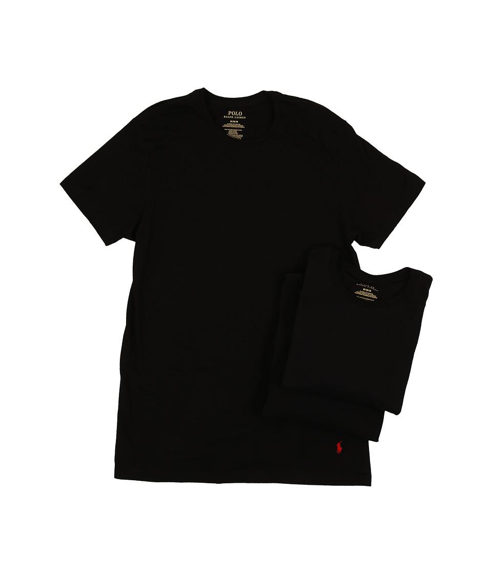 Ralph Lauren 3-Pack Crew T-Shirt (Black) Men's T Shirt