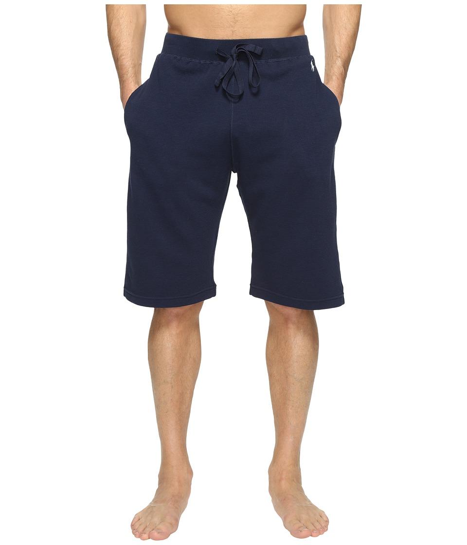 Ralph Lauren Waffle Shorts (Navy) Men's Underwear