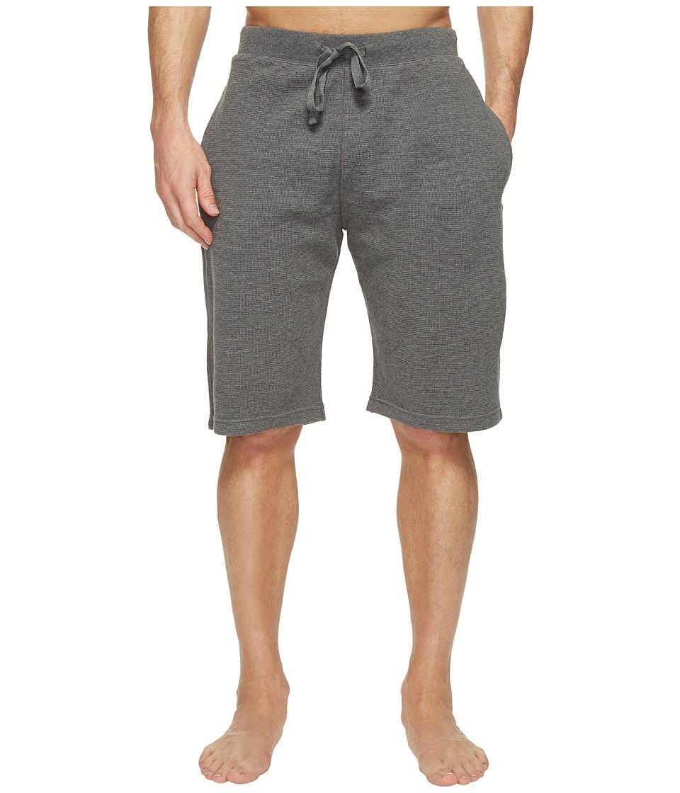 Ralph Lauren Waffle Shorts (Charcoal) Men's Underwear