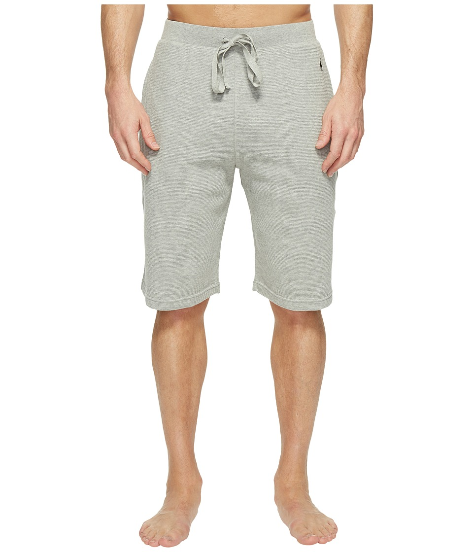 Ralph Lauren Waffle Knit Shorts (Andover Heather) Men's U...