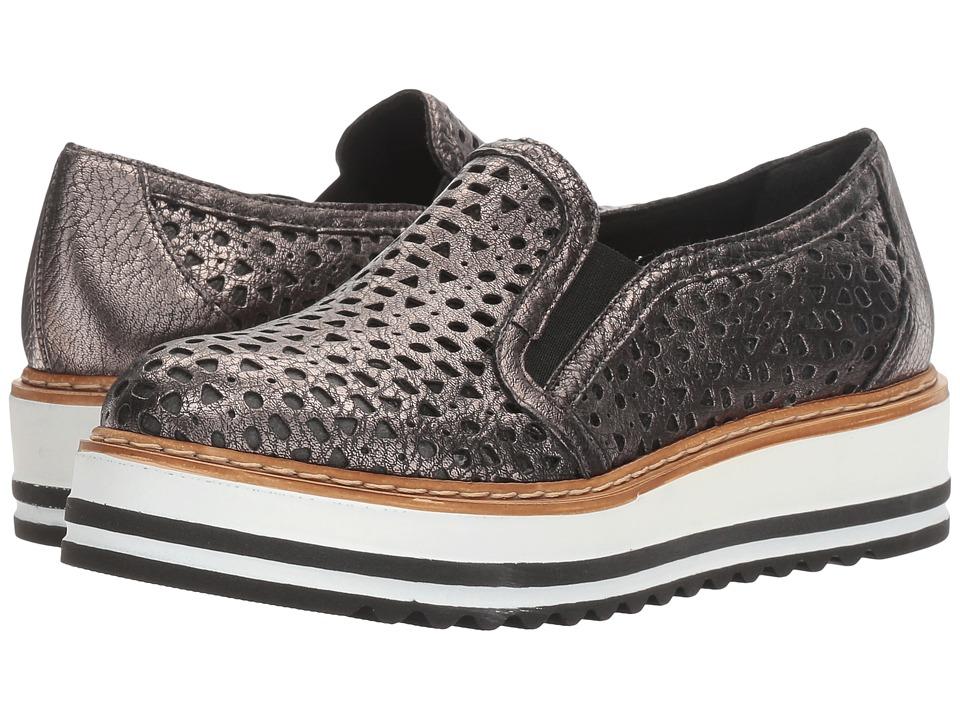 Summit by White Mountain - Braxton (Pewter Metallic Leather) Womens Slip on  Shoes