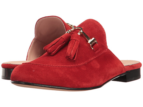 Summit by White Mountain Abelle - Red Suede
