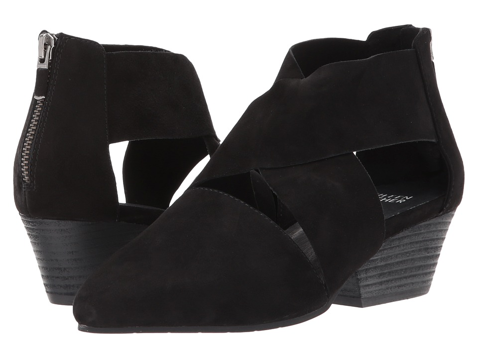 Eileen Fisher Vera (Black Suede) Women