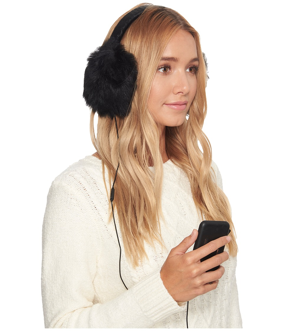 Ugg Leopard Wired Earmuff (Black) Cold Weather Hats