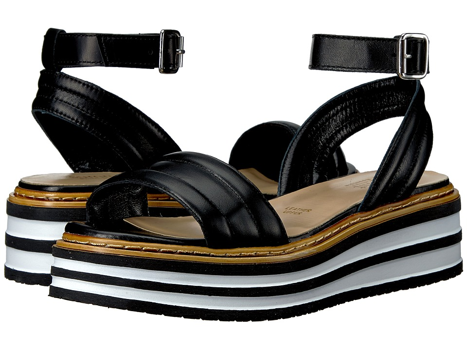 Summit by White Mountain - Laney (Black Leather) Womens Shoes