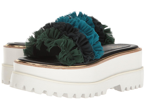 Suecomma Bonnie Frill Detailed High Platform