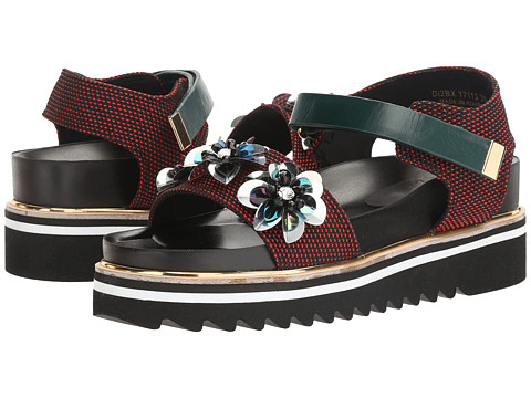 Suecomma Bonnie Flower Ornament Platform Sandal
