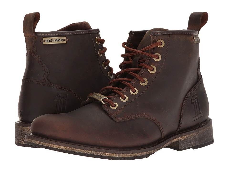 Harley-Davidson - Darrol (Brown) Mens Lace-up Boots