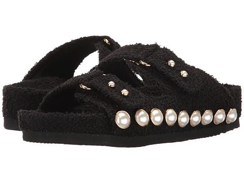 Suecomma Bonnie Jewel Ornament Cotton Slide Sandal