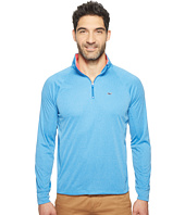 Vineyard Vines Golf - Nine Mile Heather 1/4 Zip Performance Shirt