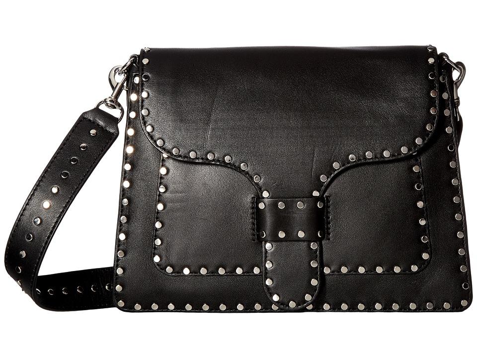 Rebecca Minkoff - Midnighter Slim Shoulder Bag (Black) Bags