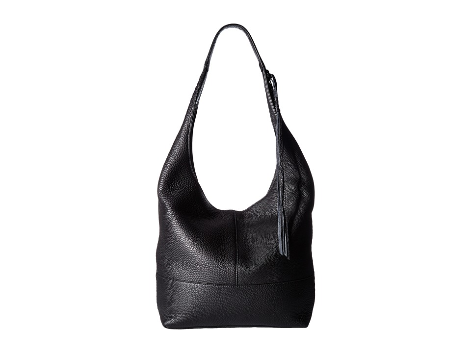 Rebecca Minkoff - Unlined Slouchy Hobo with Whipstitch (Black) Hobo Handbags