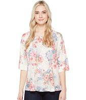 Nally & Millie - Printed Over Size Top