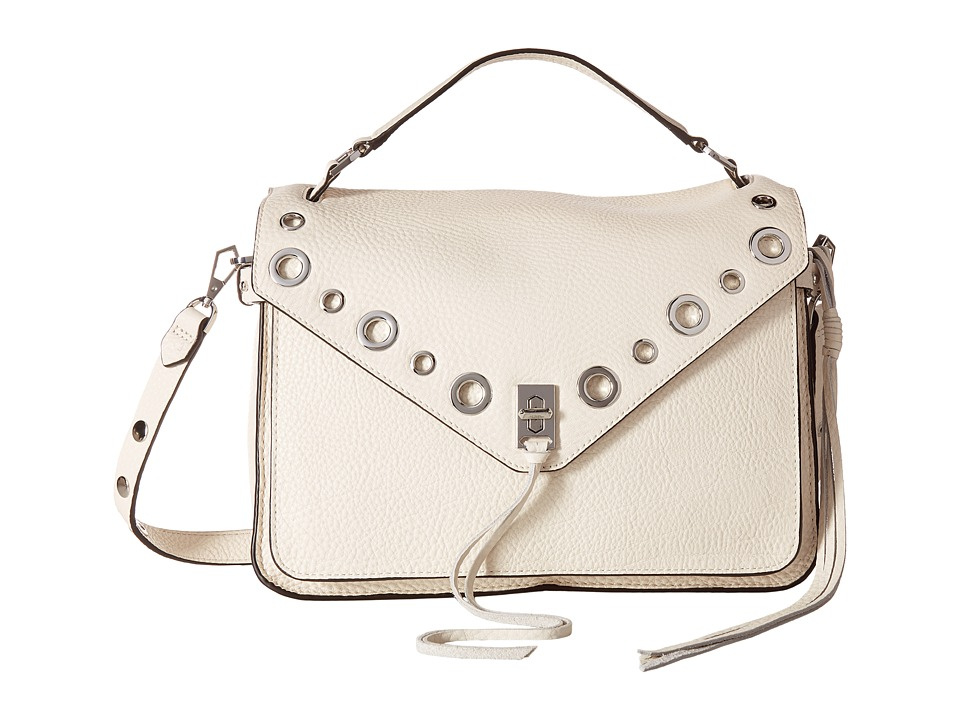 Rebecca Minkoff Darren Messenger w/ Grommets (Antique White) Messenger Bags