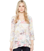 Nally & Millie - Printed V-Neck Tunic