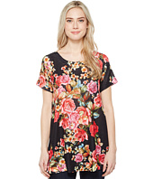 Nally & Millie - Floral Print Short Sleeve Tunic