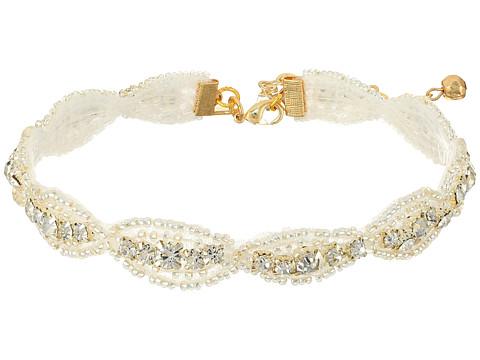 Vanessa Mooney The Aquarian Choker Necklace - Silver
