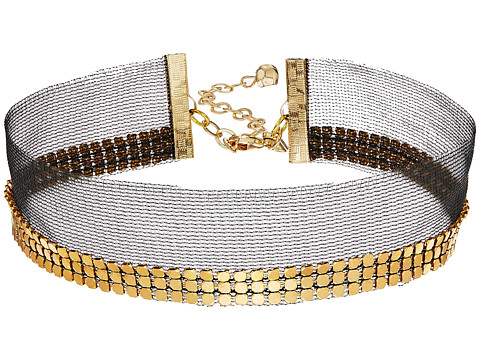 Vanessa Mooney The Lucille Choker Necklace - Gold