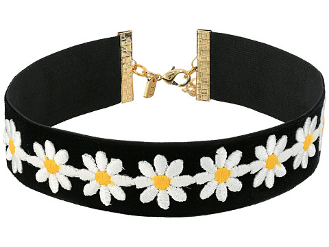 Vanessa Mooney The Dazed Choker Necklace - Black