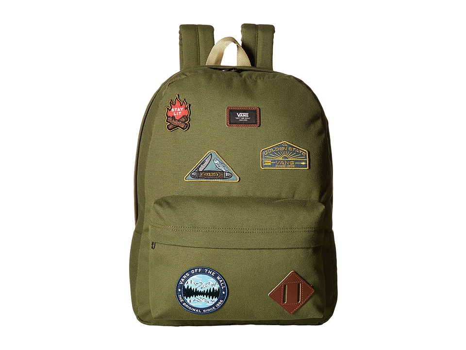 Vans Old Skool II Backpack (Parks N Wreck) Backpack Bags