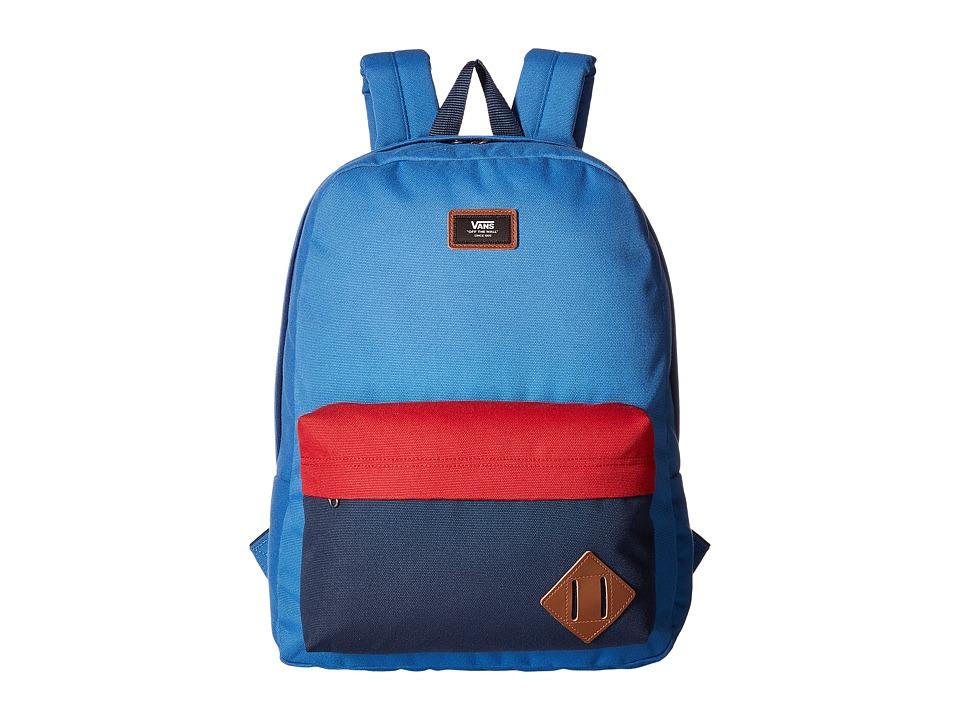 Vans Old Skool II Backpack (Delft Color Block) Backpack Bags