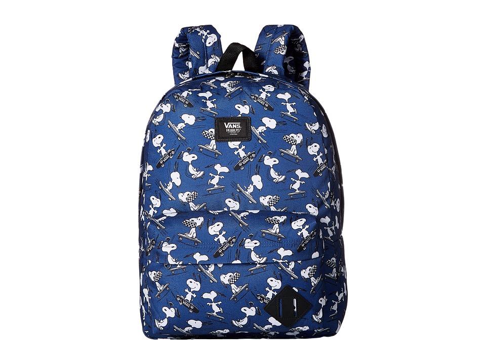 Vans Peanuts Old Skool II Backpack (True Navy) Backpack Bags