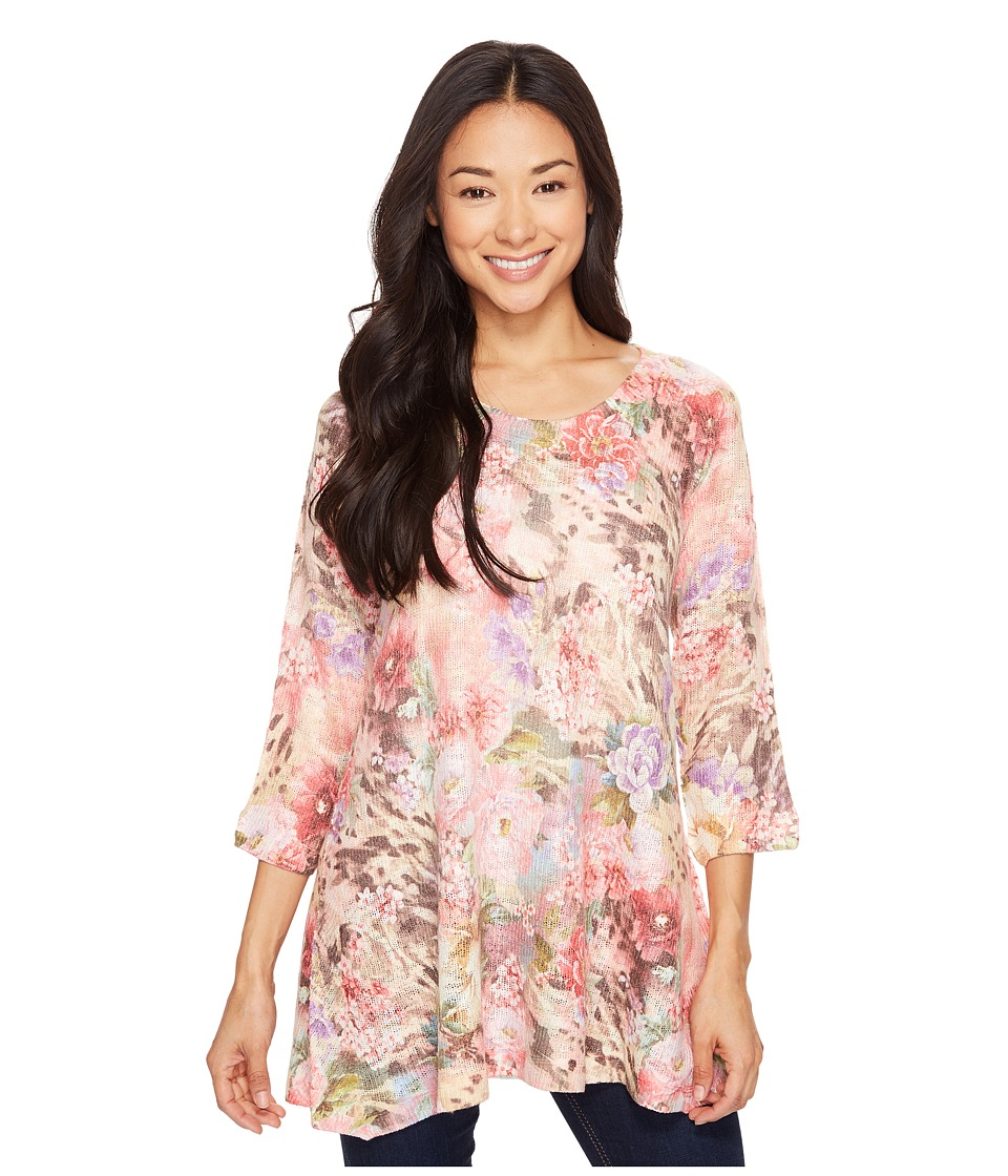 Nally & Millie - Printed Floral Leopard Tunic