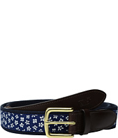 Vineyard Vines - Woodblock Floral Canvas Club Belt