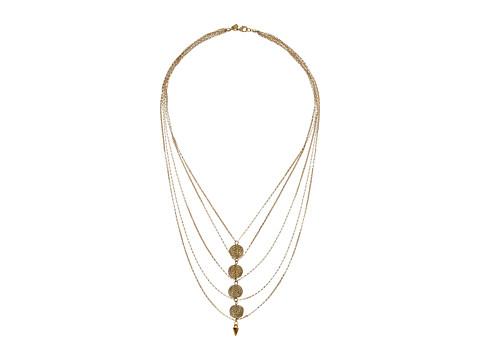 Vanessa Mooney The Libra Necklace - Gold