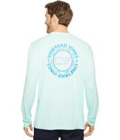 Vineyard Vines - Long Sleeve Sail Rope Whale Dot Performance T-Shirt