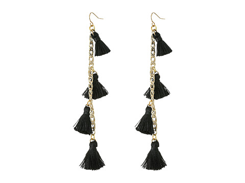 Vanessa Mooney The Dynasty Earrings - Black