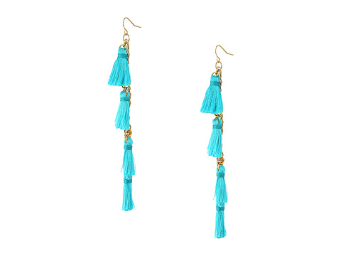 Vanessa Mooney The Dynasty Earrings - Teal