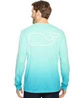 Vineyard Vines - Long Sleeve Dip-Dyed Vintage Whale Pocket T-Shirt