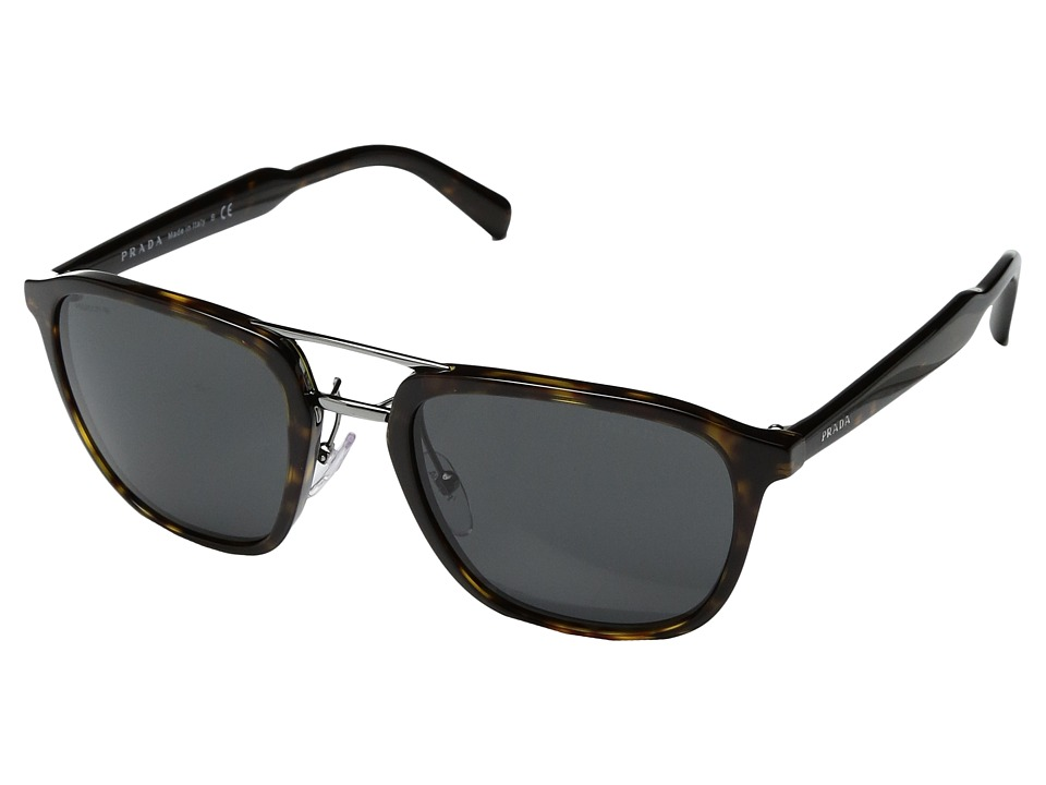 Prada 0PR 12TS (Havana/Grey) Fashion Sunglasses