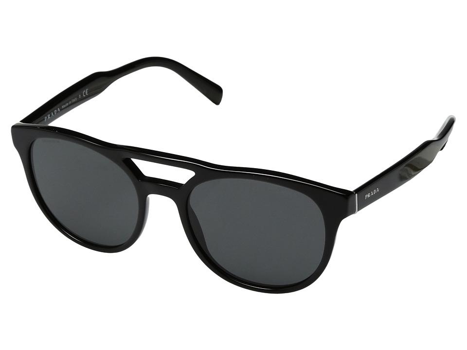 Prada 0PR 13TS (Black/Grey) Fashion Sunglasses